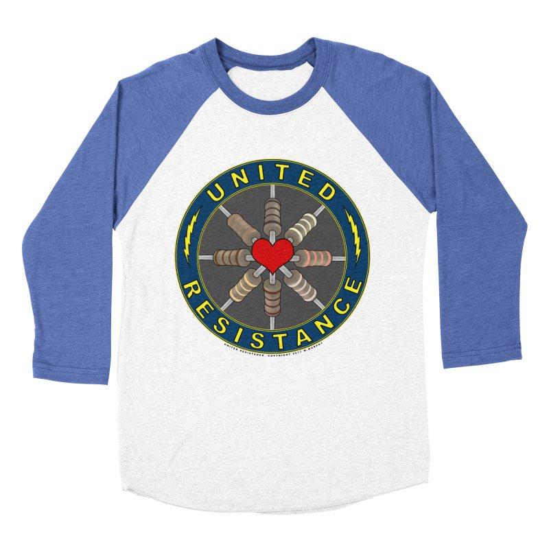 United Resistance Through Love Women's Baseball Triblend Longsleeve T-Shirt by Spiral Saint - Artist Shop