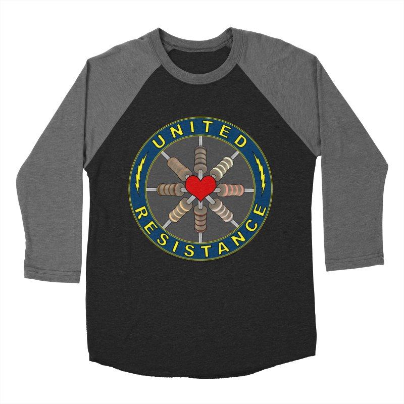 United Resistance Through Love Women's Baseball Triblend T-Shirt by Spiral Saint - Artist Shop
