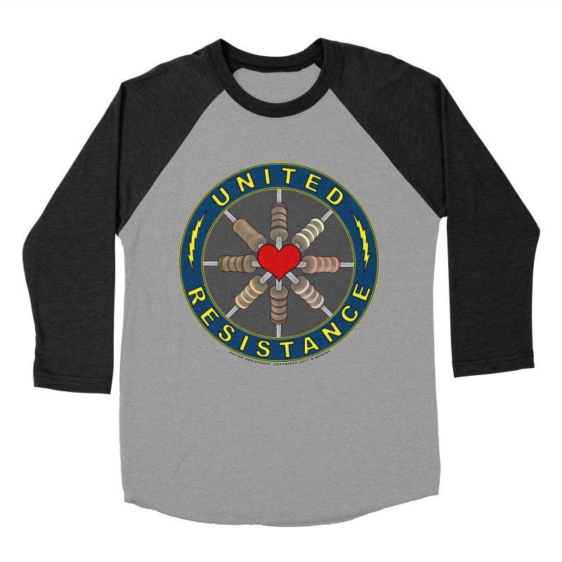 United Resistance Through Love Men's Baseball Triblend Longsleeve T-Shirt by Spiral Saint - Artist Shop
