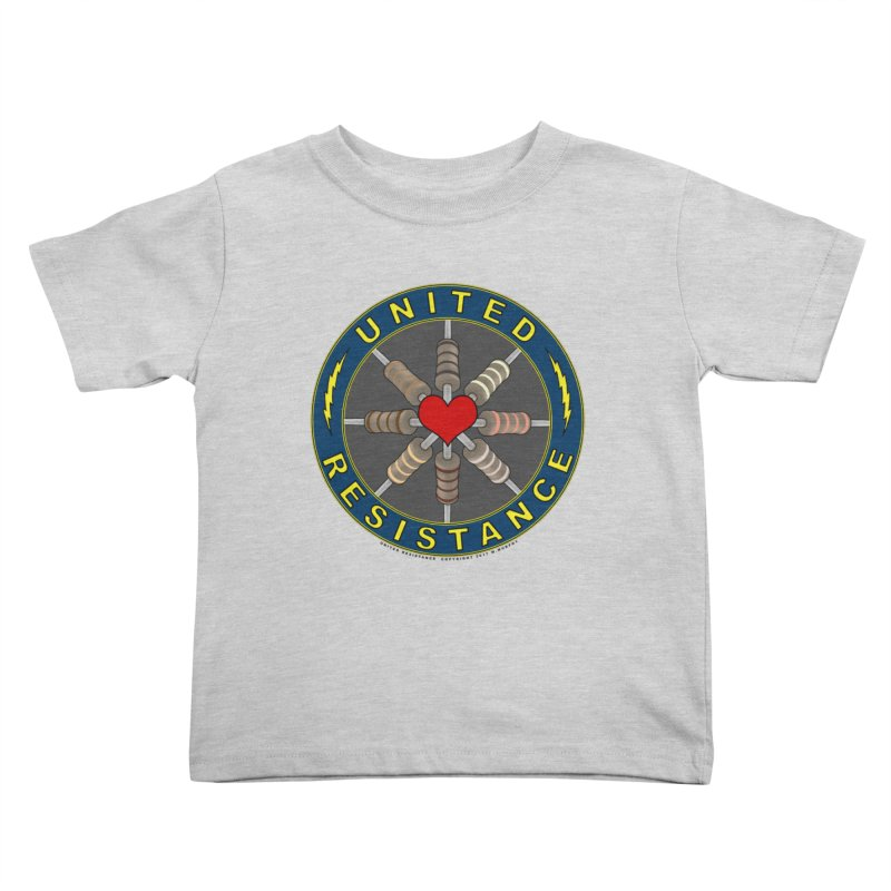 United Resistance Through Love Kids Toddler T-Shirt by Spiral Saint - Artist Shop