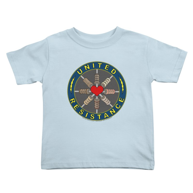 United Resistance Through Love Kids Toddler T-Shirt by Spiral Saint - Artist Shop