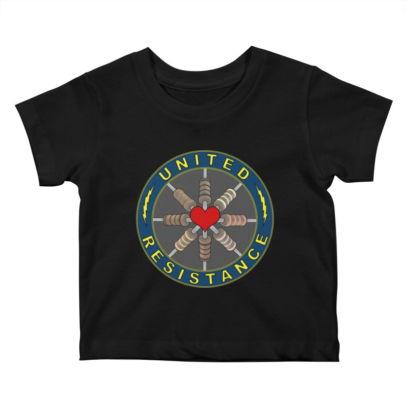 United Resistance Through Love Kids Baby T-Shirt by Spiral Saint - Artist Shop