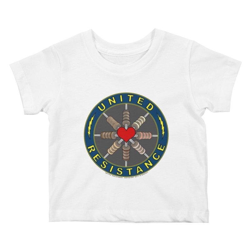 United Resistance Through Love Kids Baby T-Shirt by Spiral Saint - Artist Shop