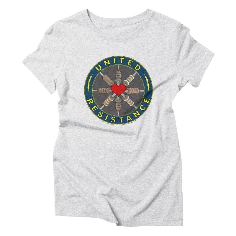 United Resistance Through Love Women's T-Shirt by Spiral Saint - Artist Shop