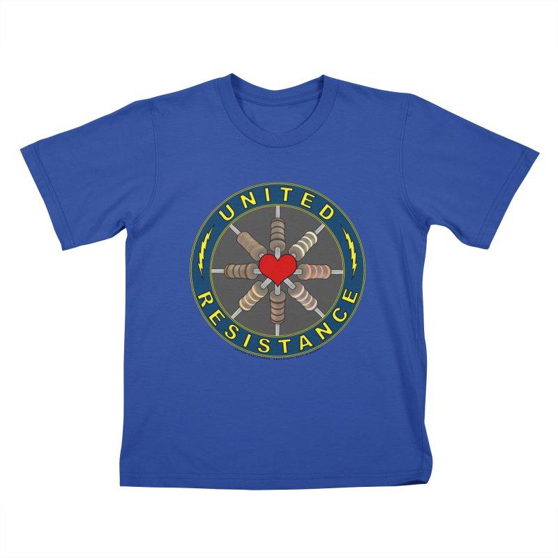 United Resistance Through Love Kids T-Shirt by Spiral Saint - Artist Shop