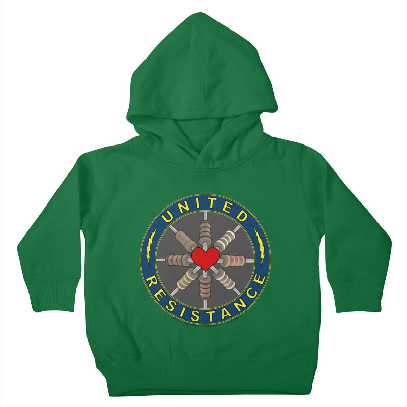United Resistance Through Love Kids Toddler Pullover Hoody by Spiral Saint - Artist Shop