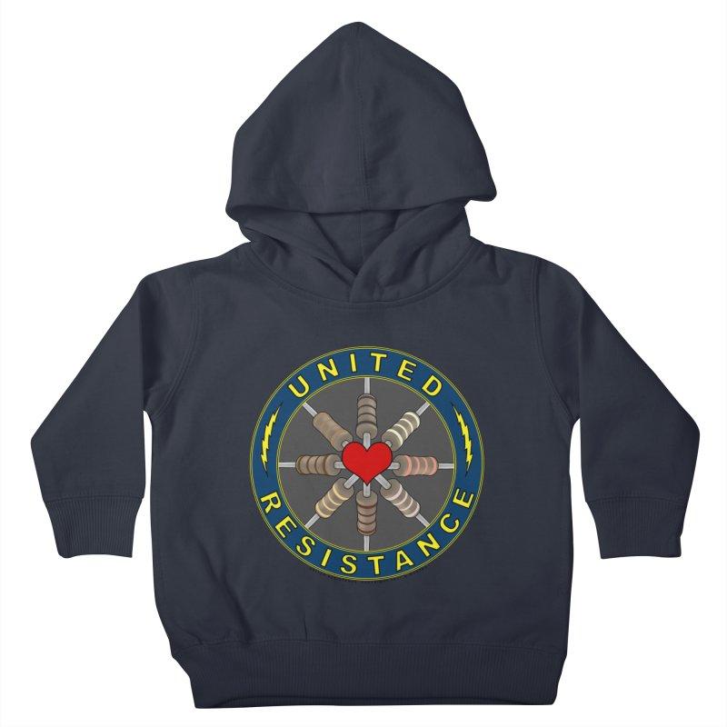 United Resistance Through Love Kids Toddler Pullover Hoody by Spiral Saint - Artist Shop