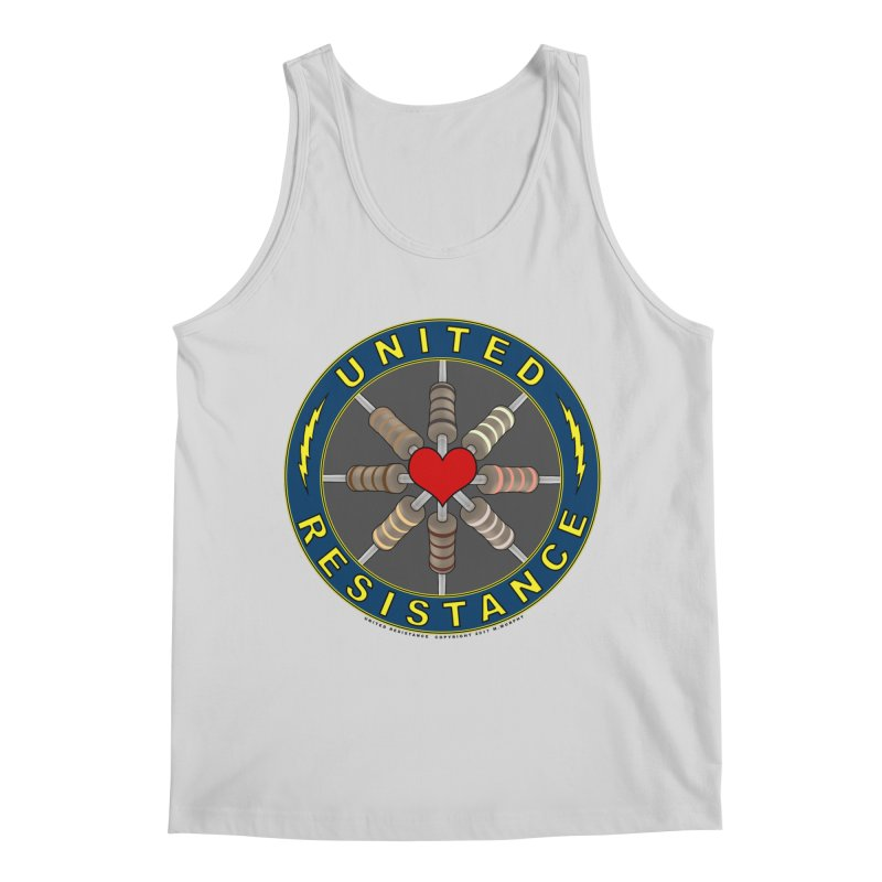 United Resistance Through Love Men's Regular Tank by Spiral Saint - Artist Shop