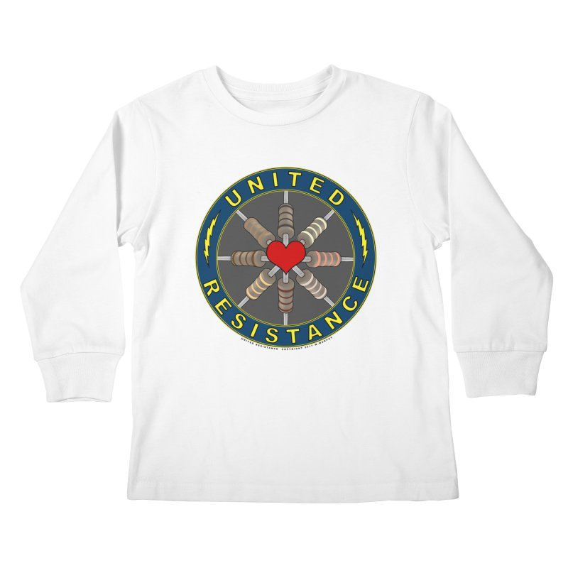 United Resistance Through Love Kids Longsleeve T-Shirt by Spiral Saint - Artist Shop