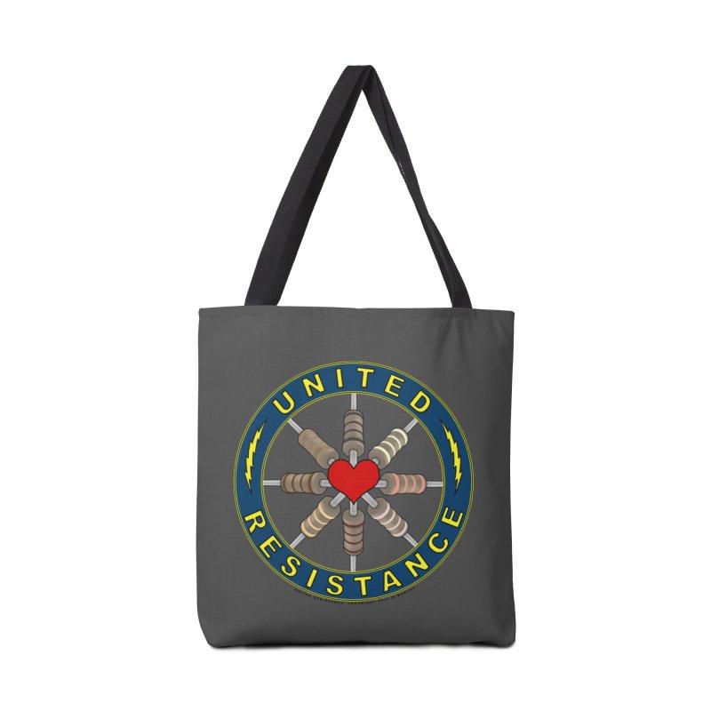 United Resistance Through Love Accessories Bag by Spiral Saint - Artist Shop