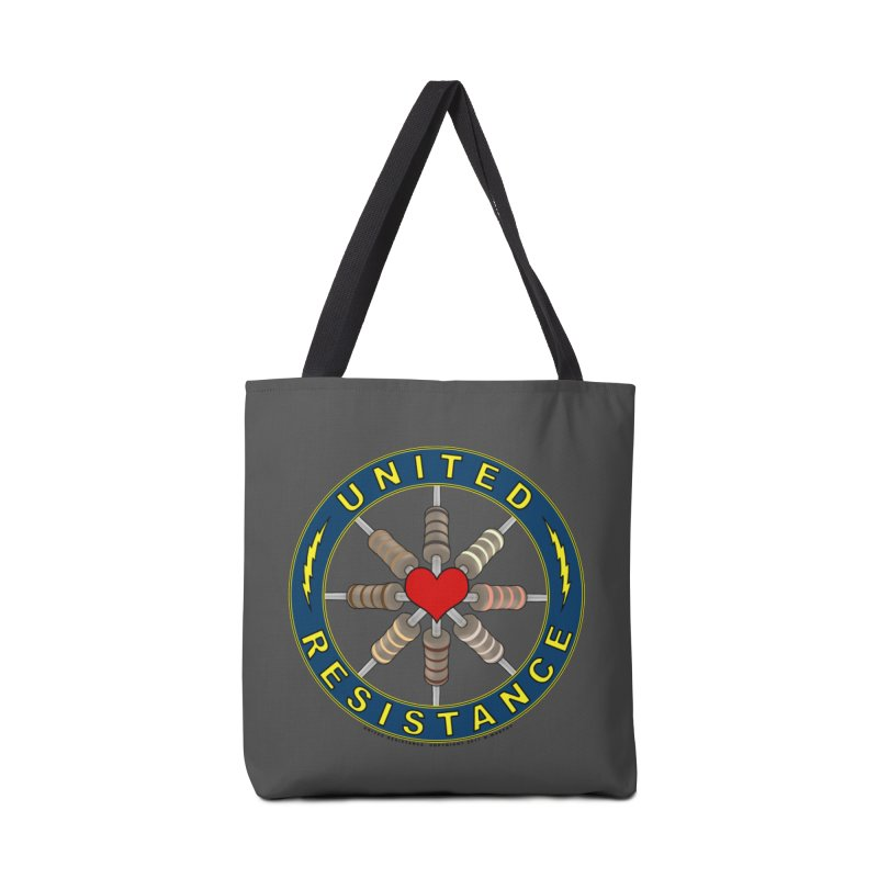 United Resistance Through Love Accessories Tote Bag Bag by Spiral Saint - Artist Shop