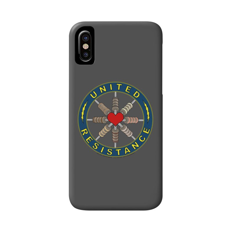 United Resistance Through Love Accessories Phone Case by Spiral Saint - Artist Shop