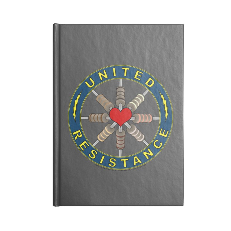 United Resistance Through Love Accessories Notebook by Spiral Saint - Artist Shop