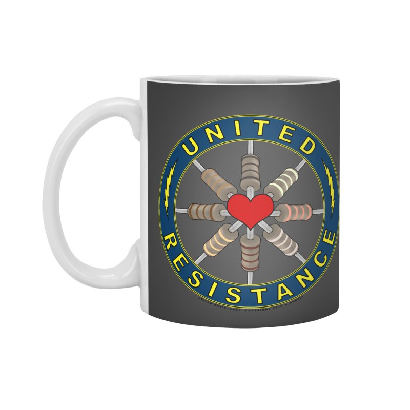 United Resistance Through Love Accessories Mug by Spiral Saint - Artist Shop