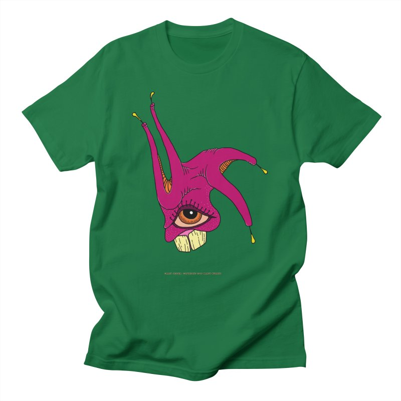 Crazy Jester Men's T-Shirt by Spiral Saint - Artist Shop
