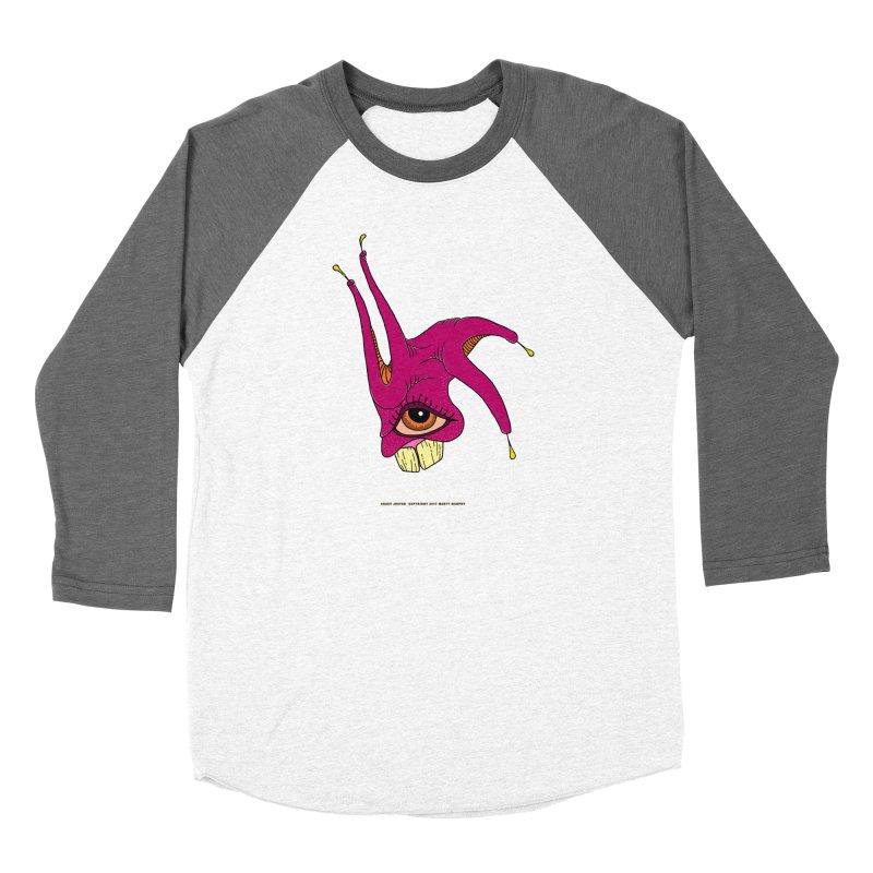Crazy Jester Women's Longsleeve T-Shirt by Spiral Saint - Artist Shop