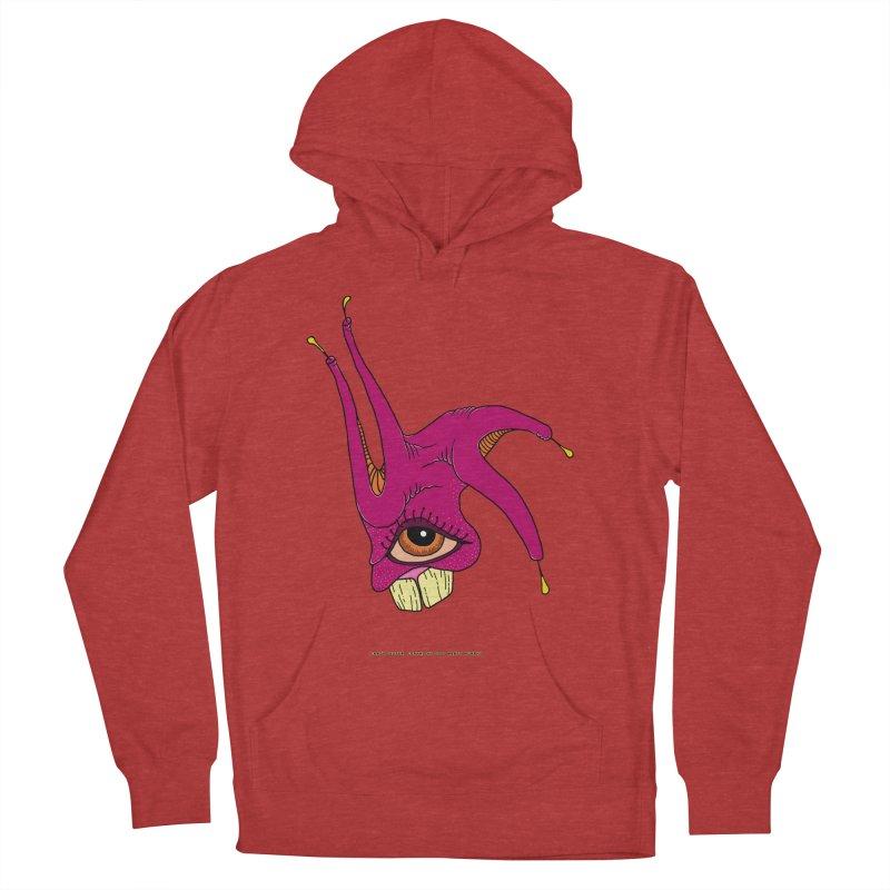 Crazy Jester Women's Pullover Hoody by Spiral Saint - Artist Shop