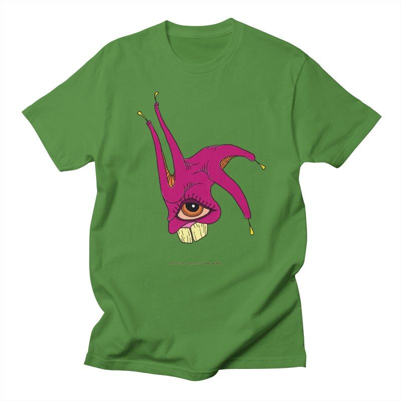 Crazy Jester Women's Regular Unisex T-Shirt by Spiral Saint - Artist Shop