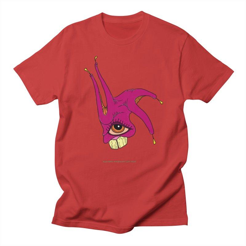 Crazy Jester Men's Regular T-Shirt by Spiral Saint - Artist Shop