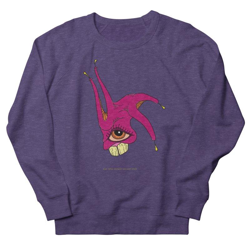 Crazy Jester Women's Sweatshirt by Spiral Saint - Artist Shop