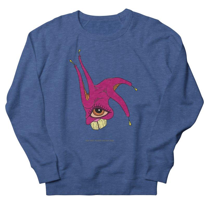 Crazy Jester Men's Sweatshirt by Spiral Saint - Artist Shop