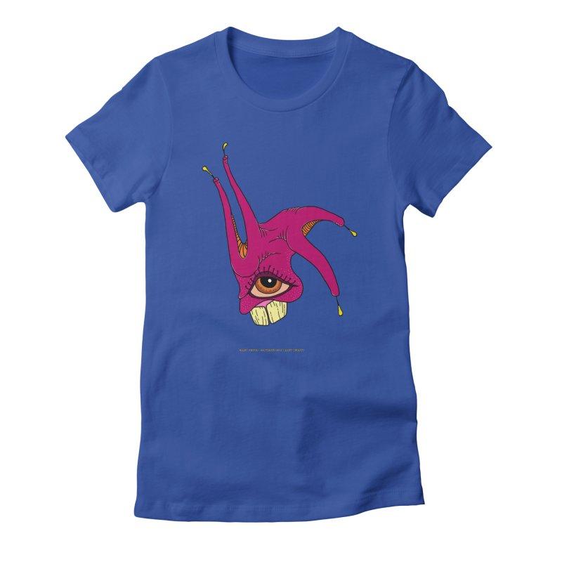 Crazy Jester Women's T-Shirt by Spiral Saint - Artist Shop