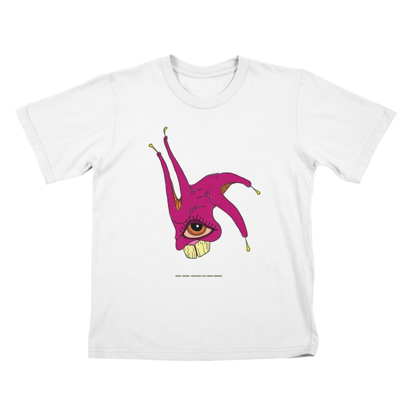 Crazy Jester Kids T-Shirt by Spiral Saint - Artist Shop