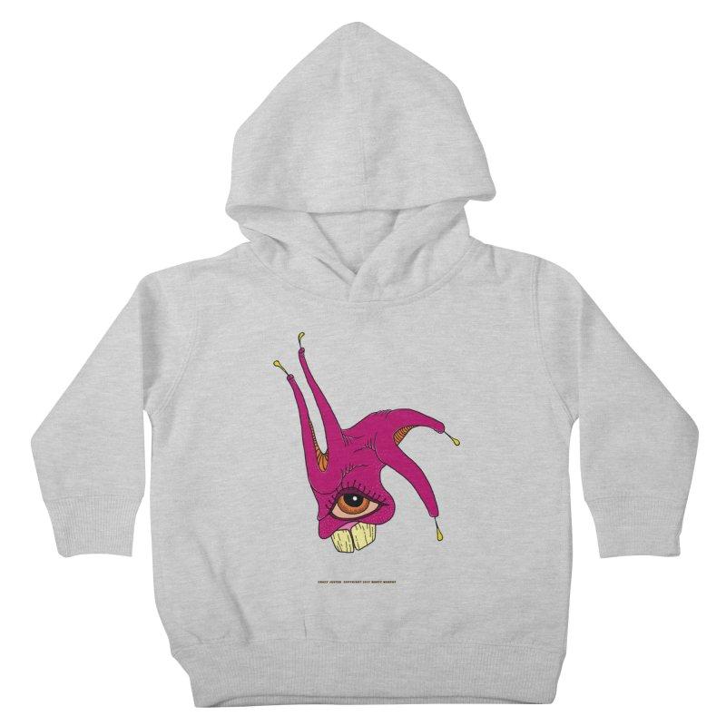 Crazy Jester Kids Toddler Pullover Hoody by Spiral Saint - Artist Shop
