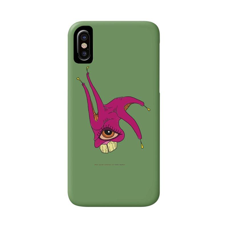 Crazy Jester Accessories Phone Case by Spiral Saint - Artist Shop