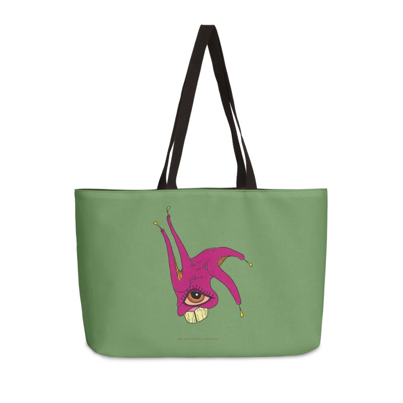 Crazy Jester Accessories Weekender Bag Bag by Spiral Saint - Artist Shop