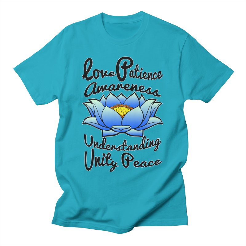 The Lotus Blossom Men's T-Shirt by Spiral Saint - Artist Shop