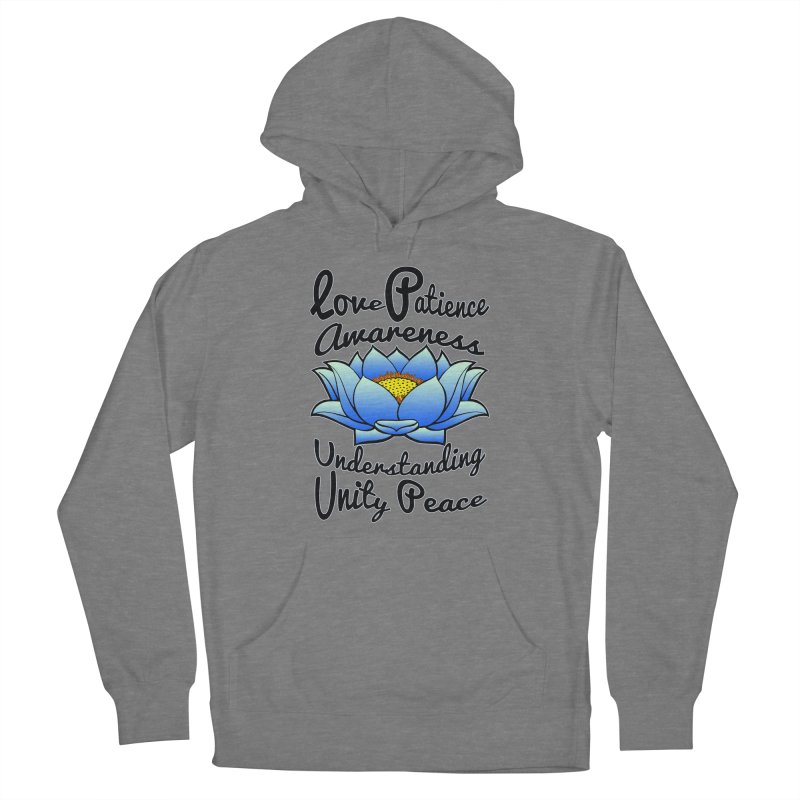 The Lotus Blossom Women's Pullover Hoody by Spiral Saint - Artist Shop