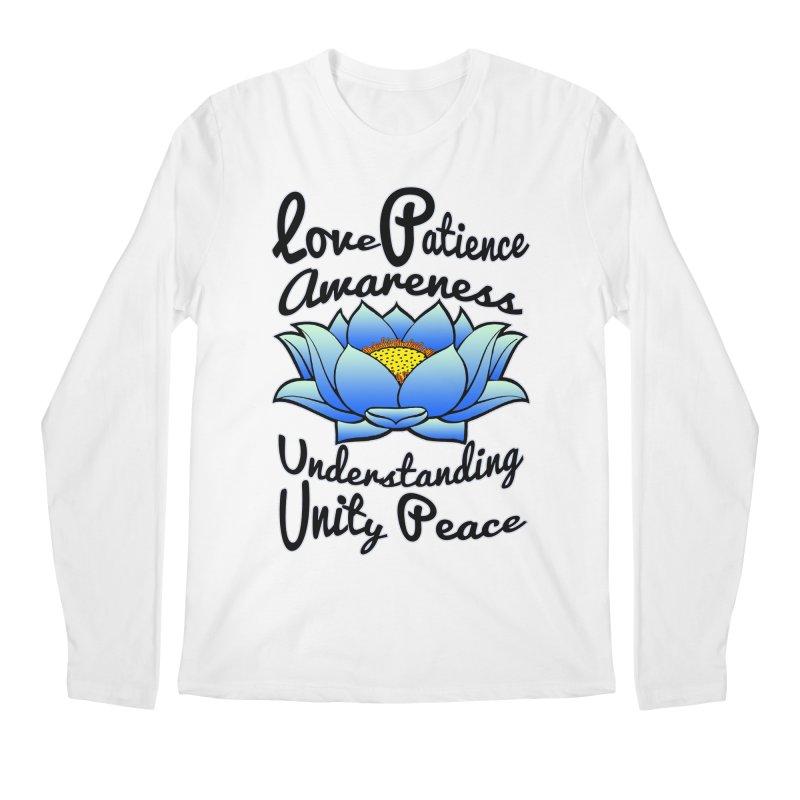 The Lotus Blossom Men's Longsleeve T-Shirt by Spiral Saint - Artist Shop