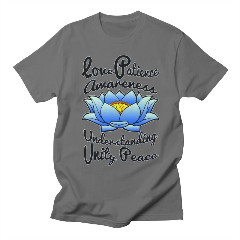 The Lotus Blossom Men's T-Shirt by Spiral Saint - Artist Shop