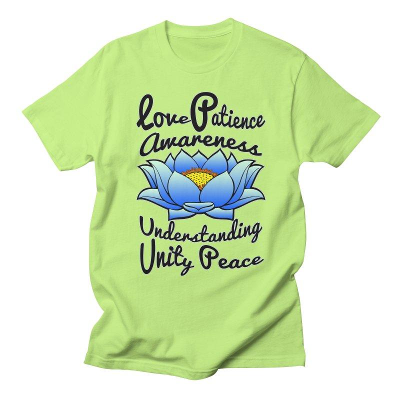 The Lotus Blossom Women's Unisex T-Shirt by Spiral Saint - Artist Shop