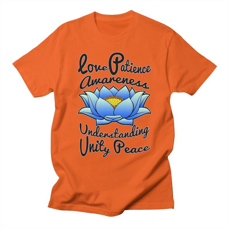 The Lotus Blossom Men's Regular T-Shirt by Spiral Saint - Artist Shop