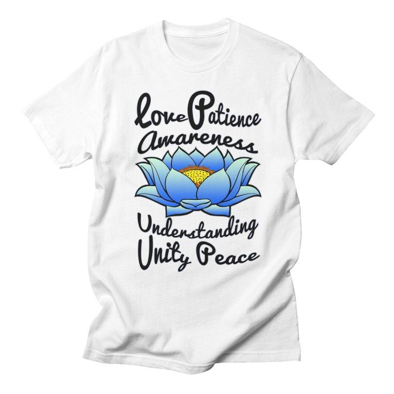 The Lotus Blossom Women's Regular Unisex T-Shirt by Spiral Saint - Artist Shop