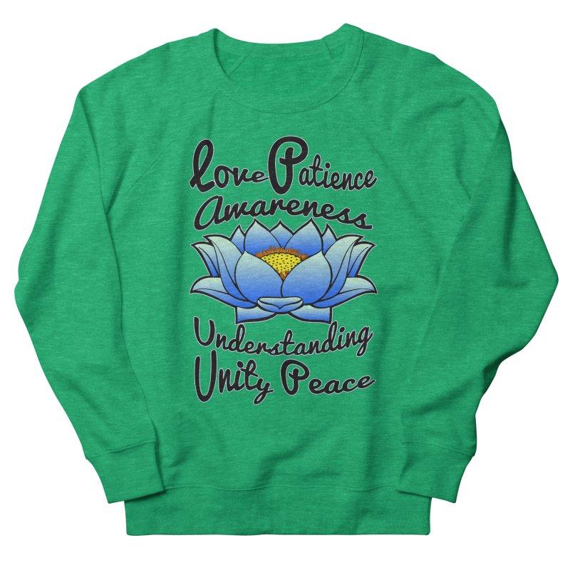The Lotus Blossom Women's Sweatshirt by Spiral Saint - Artist Shop