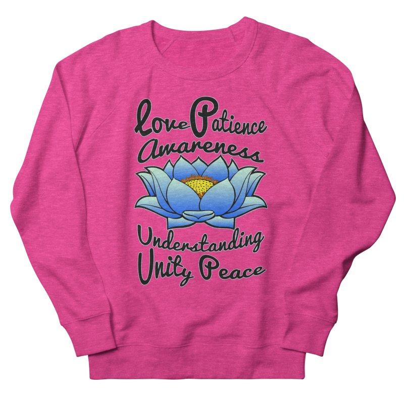 The Lotus Blossom Men's Sweatshirt by Spiral Saint - Artist Shop