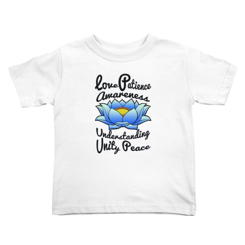 The Lotus Blossom Kids Toddler T-Shirt by Spiral Saint - Artist Shop
