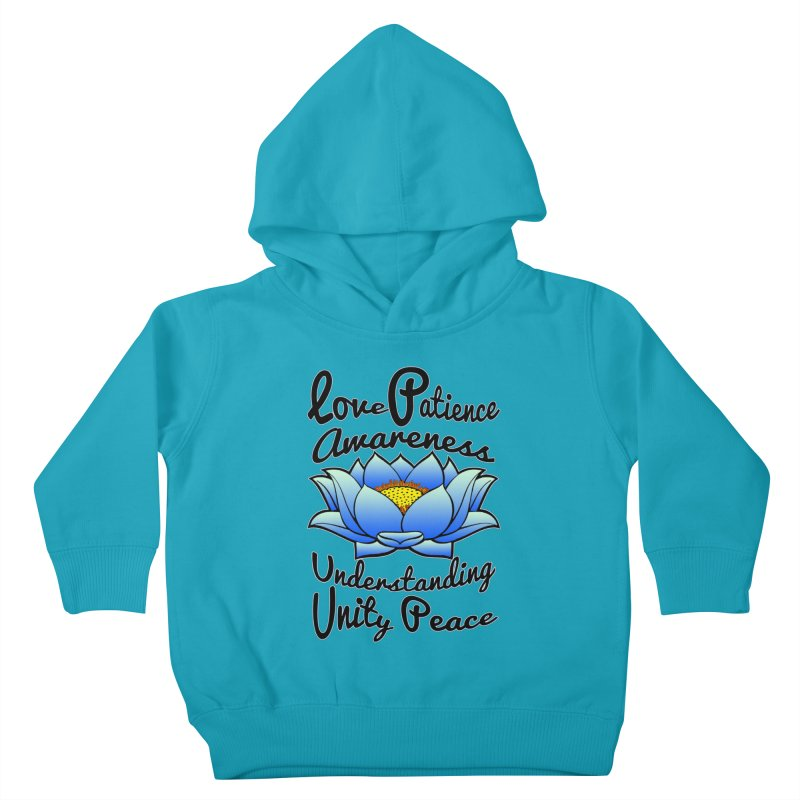 The Lotus Blossom Kids Toddler Pullover Hoody by Spiral Saint - Artist Shop