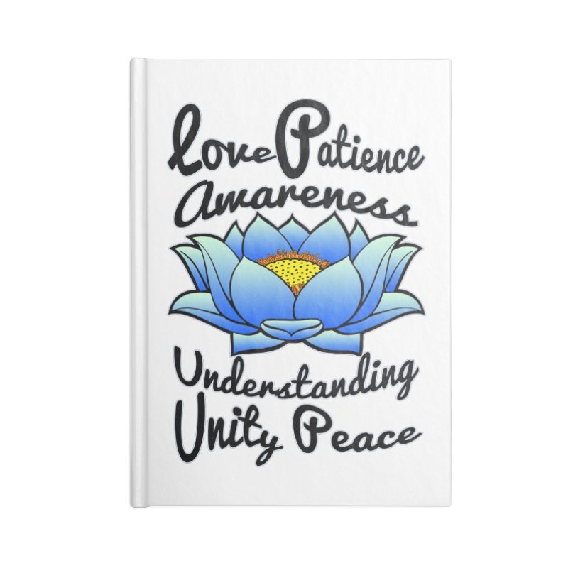 The Lotus Blossom Accessories Notebook by Spiral Saint - Artist Shop