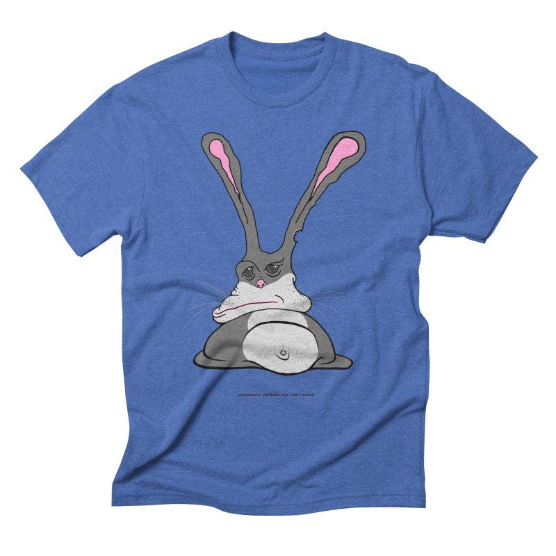 Chubs Bunny Men's T-Shirt by Spiral Saint - Artist Shop