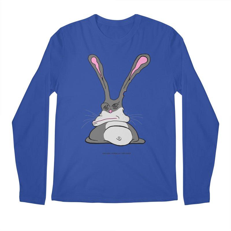 Chubs Bunny Men's Longsleeve T-Shirt by Spiral Saint - Artist Shop