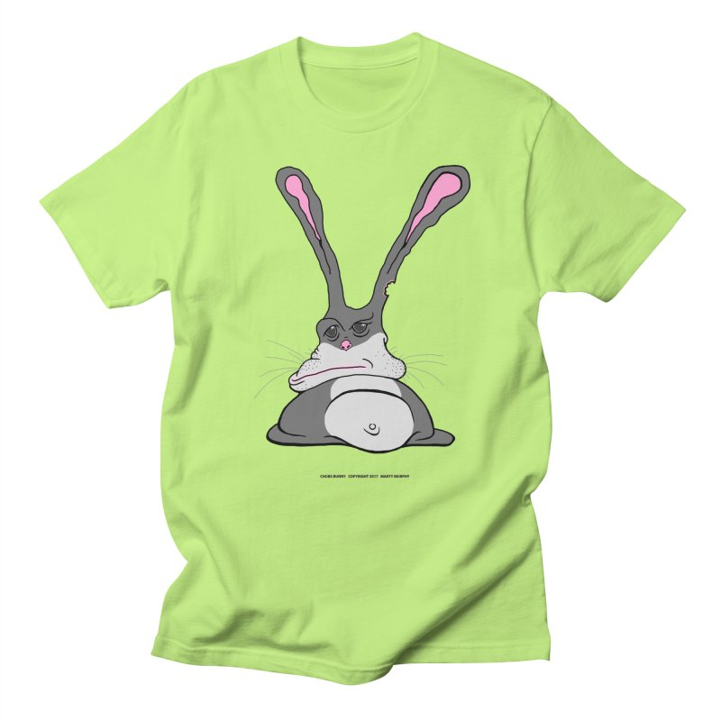 Chubs Bunny Women's Regular Unisex T-Shirt by Spiral Saint - Artist Shop