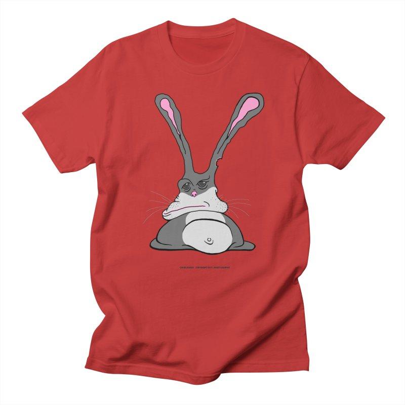 Chubs Bunny Men's Regular T-Shirt by Spiral Saint - Artist Shop