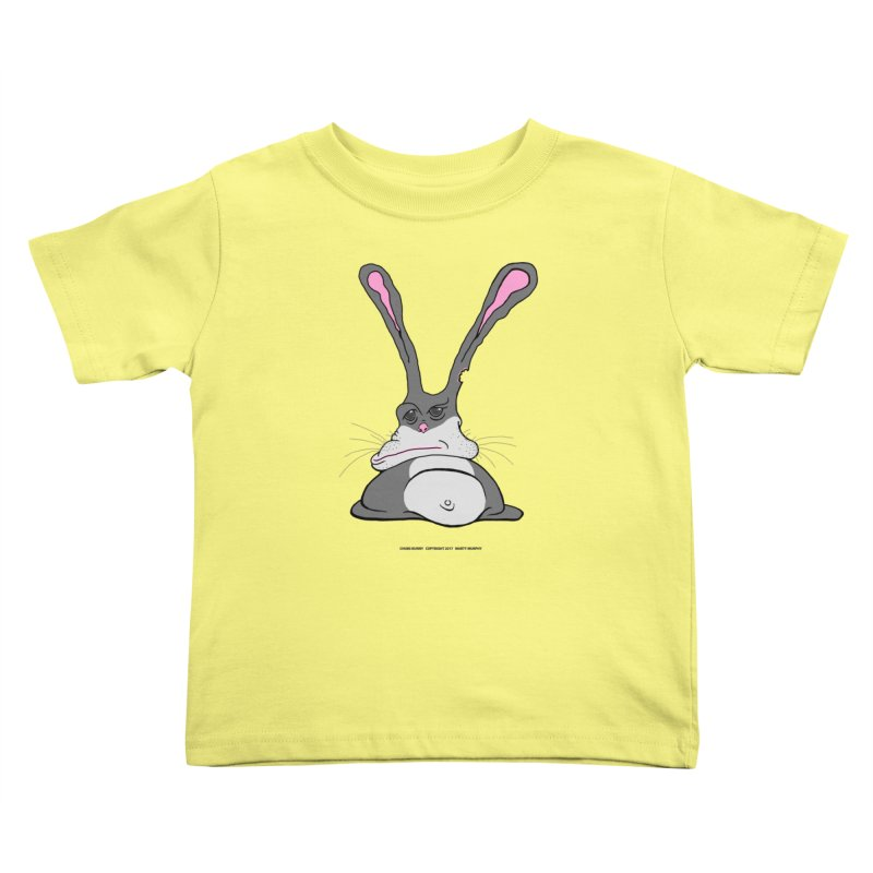 Chubs Bunny Kids Toddler T-Shirt by Spiral Saint - Artist Shop