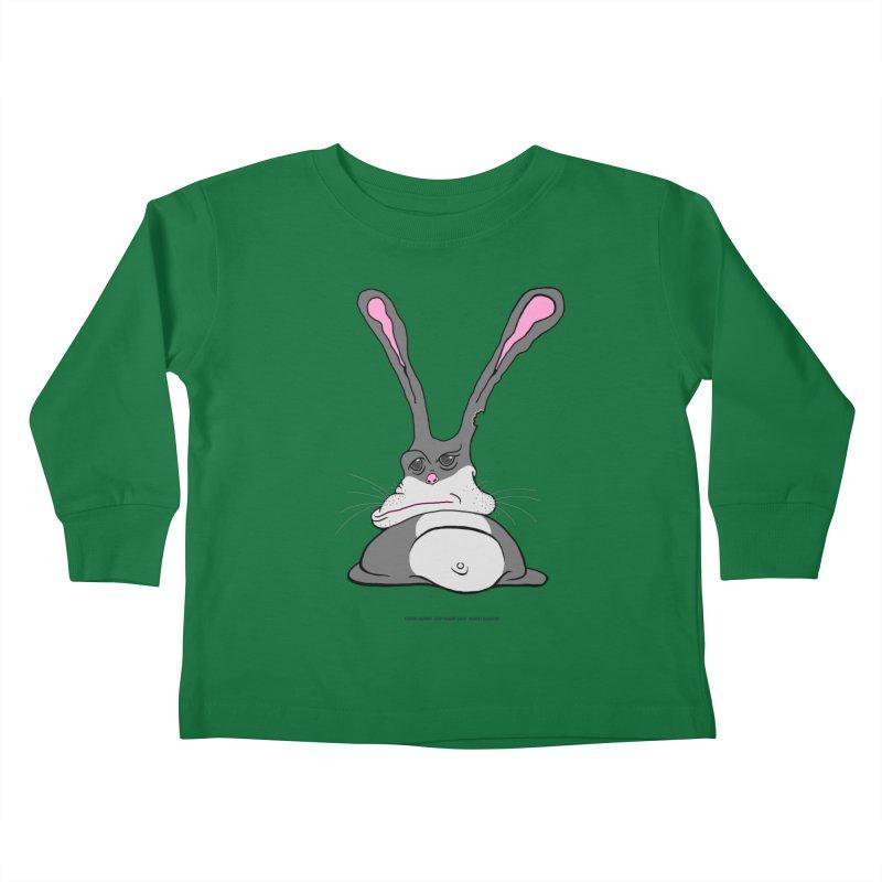 Chubs Bunny Kids Toddler Longsleeve T-Shirt by Spiral Saint - Artist Shop