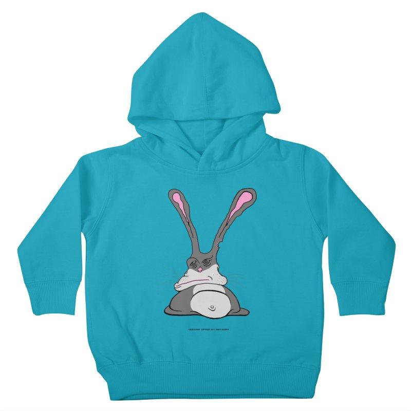 Chubs Bunny Kids Toddler Pullover Hoody by Spiral Saint - Artist Shop