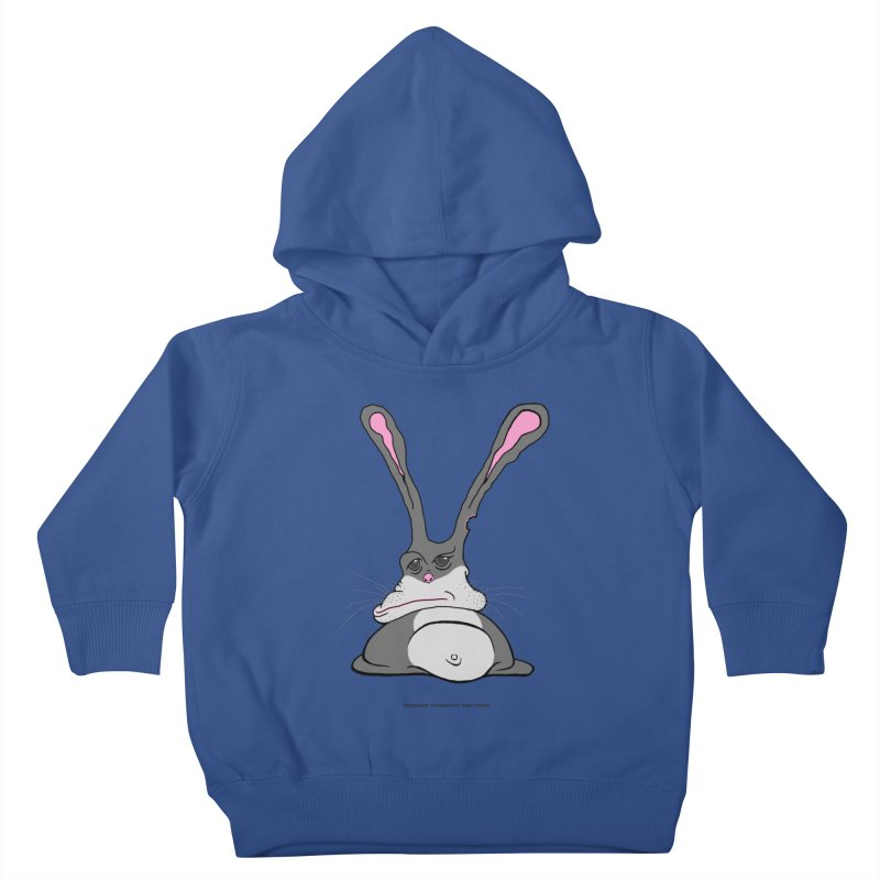 Chubs Bunny Kids Toddler Pullover Hoody by Spiral Saint - Artist Shop